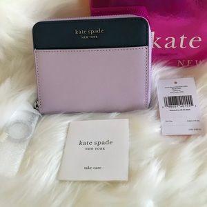 NWT Kate Spade Continental Slim Wallet